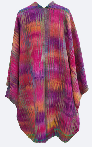 Cocoon Jacket in Multicolors